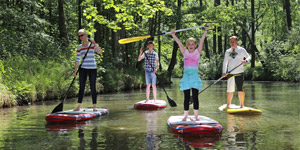 Spreewald-SUP (Stand Up Paddling)